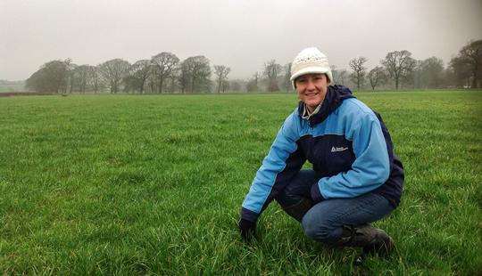 Bess Jowsey, LIC UK Pasture to Profit farm consultant