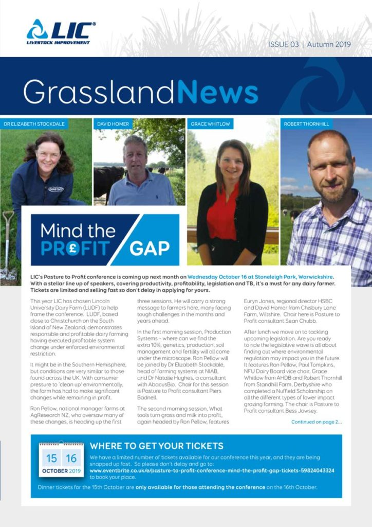 Cover image of Grassland News, Issue 03 | Autumn 2019