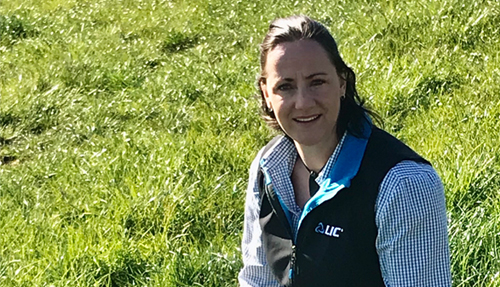 LIC UK Pasture to Profit consultant Bess Jowsey