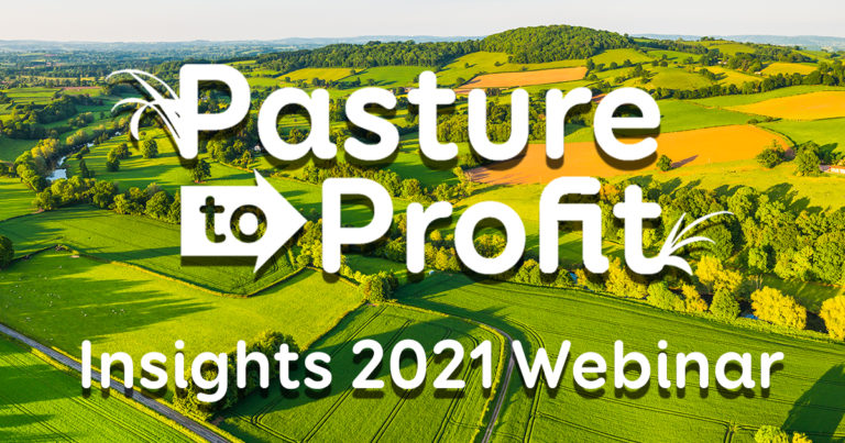 LIC Pasture to Profit webinar